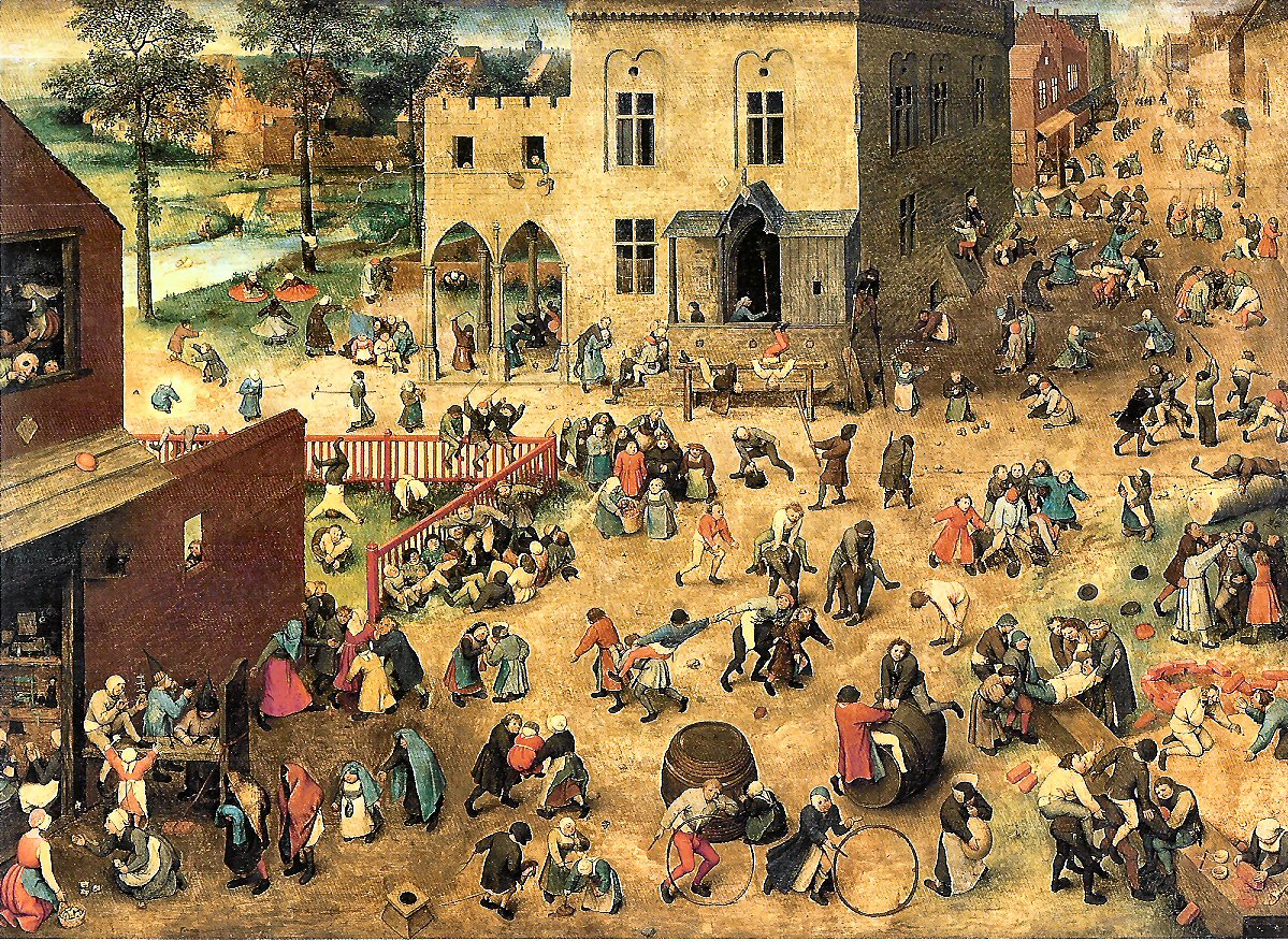 About Brueghel\'s painting