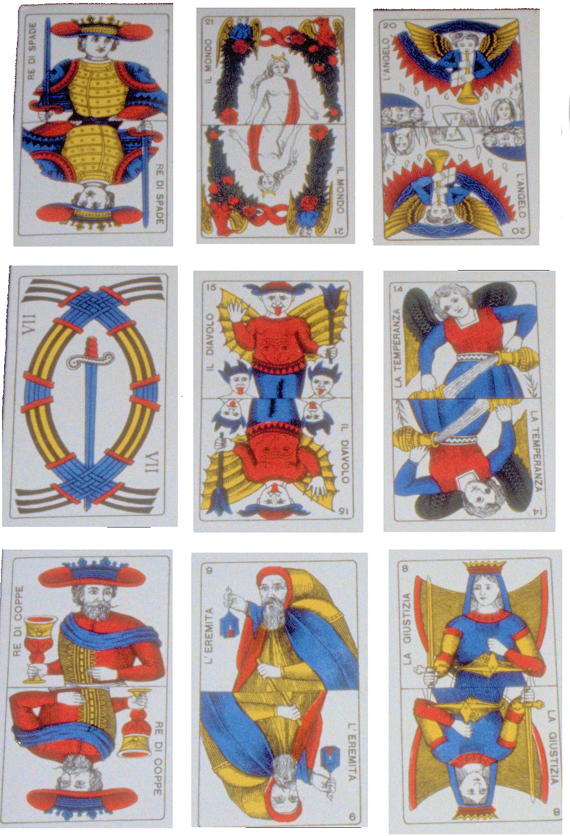 Playing Cards: Fortelling And Tarot Decks