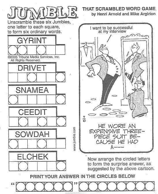 Language Puzzles Overview